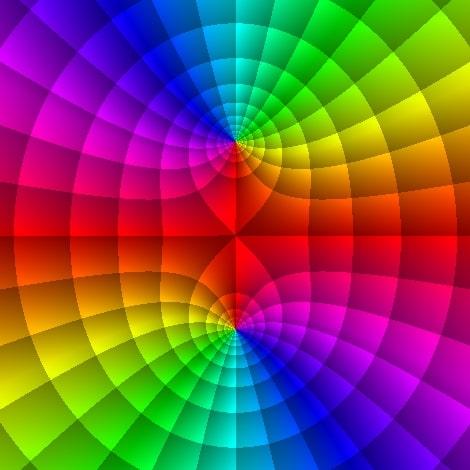 Domain coloring